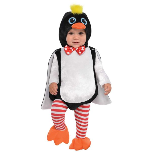 Cstm Waddles Penguin Costume Toddlers Fancy Dress Outfit